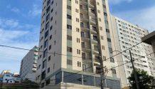 Cód 1678A - Apartamento central ( Andar Alto ).
